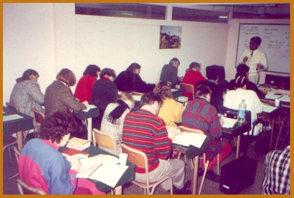 Lecturing in Santa Fe, New Maxico , U.S.A.,1994
