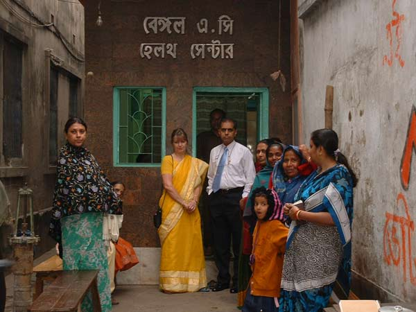 Slum Clinic Entrance