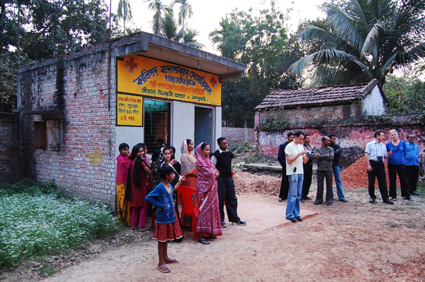 Rural Homoeopathic Clinic – a recent addition to the project.
